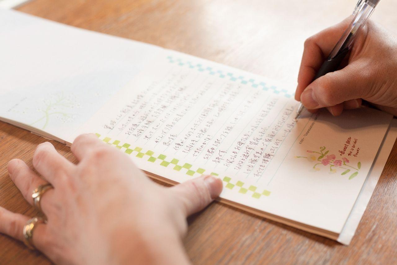 新郎から新婦への手紙、笑いあり涙ありの感動的なお手紙